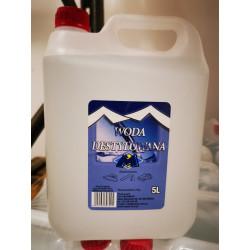 Woda destylowana 5 l  MAGMAR